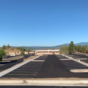 Completed Replacement Parking Lot Q