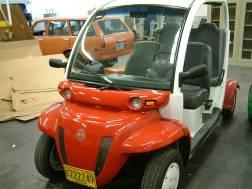 The GEM four Passenger Electric Car