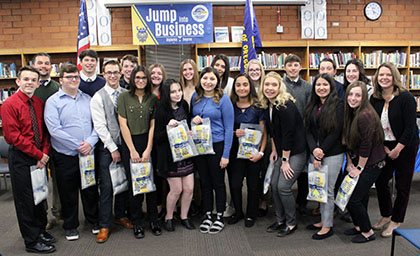 Mazama High School FBLA and business students accepted into