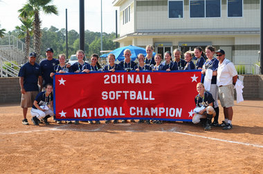 Oregon Tech 2011 NAIA Softball National Champions